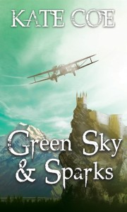 Green Sky & Sparks, by Kate Coe - available later this year!