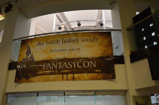 Welcome to Fantasycon! Photo: Joel Cornah