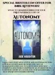 Free review copies of Autonomy!